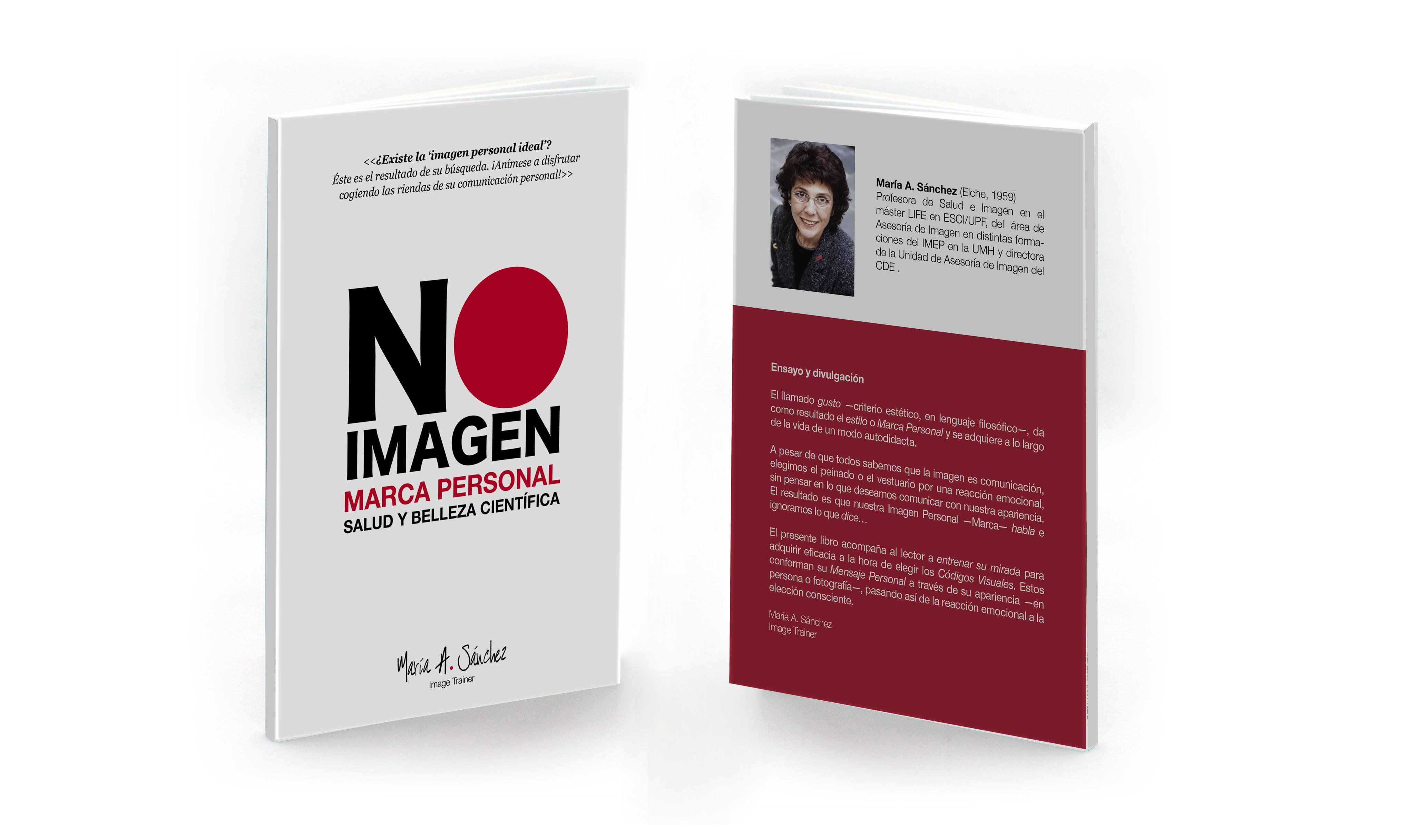 Libro NO IMAGEN María A Sánchez Marca Personal Salud y Belleza Científica Alitruc Nota de Prensa