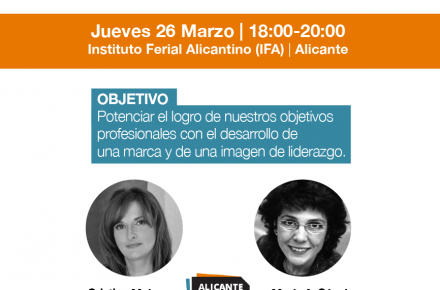 Jornada Alicante Talent Day Marzo 2015 Maria A Sanchez Cristina Mulero Marca Personal Imagen  de Marca Personal IFA