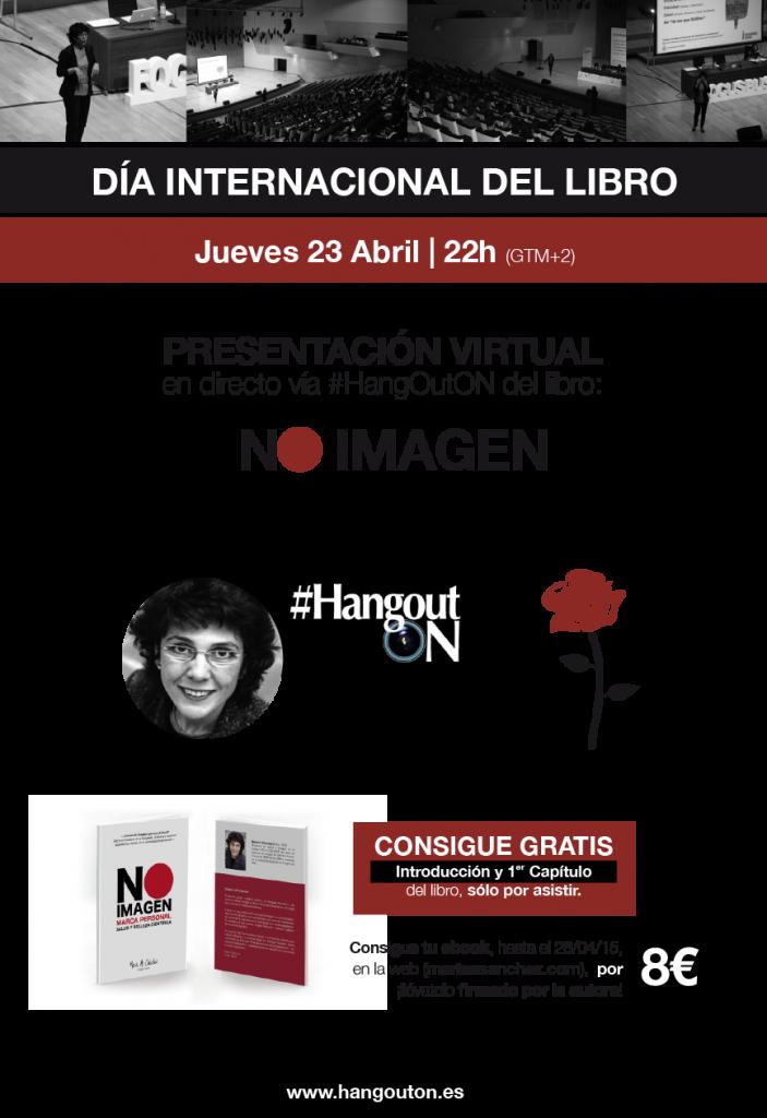 HangoutON María A. Sánchez Libro No Imagen Día del Libro